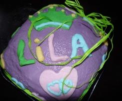 Gâteau d'anniversaire au top!