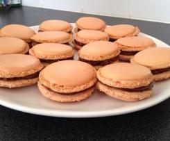 Macarons caramel/praliné