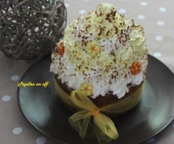 Cupcake géant au citron meringué