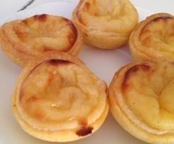 Pastéis de nata (flan portugais)