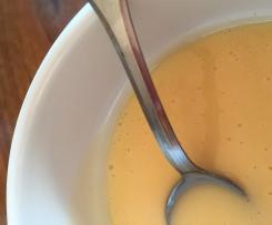 Variante de beurre blanc