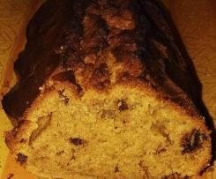 Cake bananes et pépites de chocolat