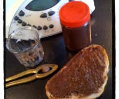Pâte à tartiner choco-speculoos-noisettes