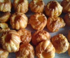 Mini cakes salés Saumon / Comté