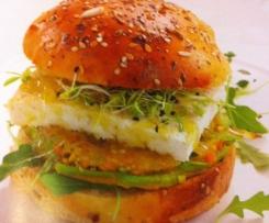 Burger au tofu