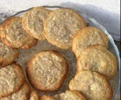 Cookies chocolat blanc et pétales de coquelicot