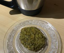 Lentilles curry coco