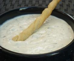 Sauce chèvre-basilic