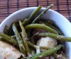 Salade de haricots verts et pommes de terre