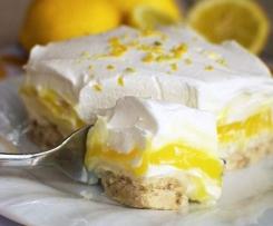 les lasagnes sucrées au citron et au mascarpone