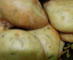 petits pains d'aubergine pour l'apéro
