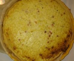 tarte oignons courgettes