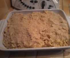 macaronis au cheddar