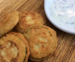 Pakora à la courgette (beignets à la farine de pois chiche)