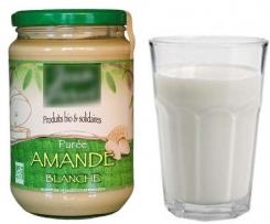lait d'amandes ultra rapide