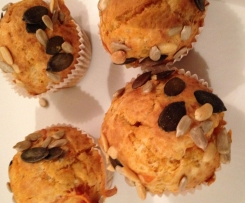 Muffins tomate et fromage