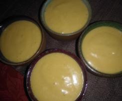 Crème mangue et coco
