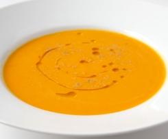 Soupe de potimarron à l'huile de noisette