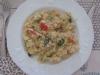 Quinoasotto courgette tomate