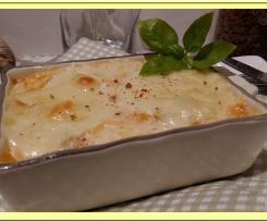 Flan de Poireau, Saumon et Mozzarella