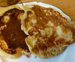 Pancakes aux bananes à indice glycémique bas
