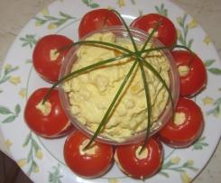 tomate surprise (à déguster pendant que les saucisses sont sur le barbecue...)