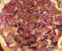 Tarte aux figues et crème d'amandes