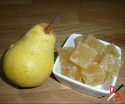Pâte de fruit à la poire