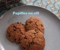 Cookies au beurre de cacahuètes et farine de petit épeautre - IG bas