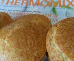 20 muffins courgette-graines de lin