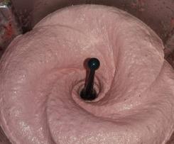 Sorbet / Glace Rhubarbe Framboises