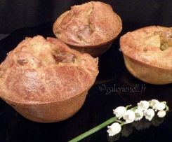 Minis cakes salés pomme / foie gras