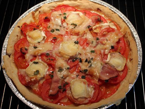Tarte Tomate Chevre Parmesan Par Babeth64 Une Recette De Fan A