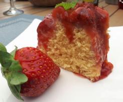 Gateau renversé fraises amande à la vapeur de Fannélie