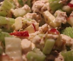 Salade Waldorf au poulet