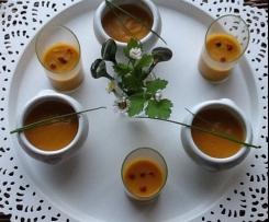 Velouté glacé carottes lait de coco