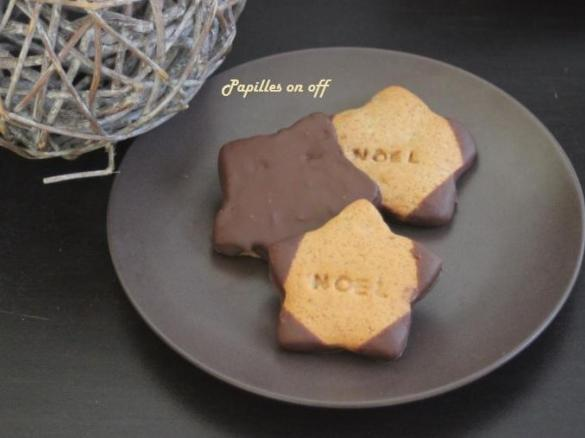 Biscuits Sables Pain D Epices Au Chocolat Et Orange Par Papilles On
