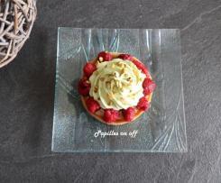 Tartelettes pistache / framboises