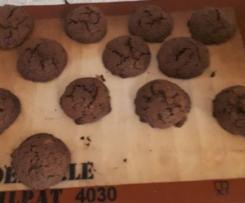 Cookies chocolat crouti moelleux