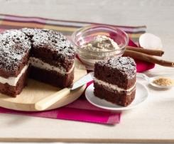 Tarte tout chocolat à la crème de mascarpone