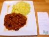 Boucané bringelle au massalé et Riz zembrocal pommes de terre