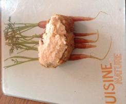Tartine de rillettes de crevettes