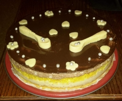 Gâteau mousse banane chocolat
