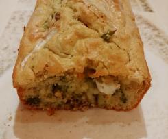 Cake brocoli - noix