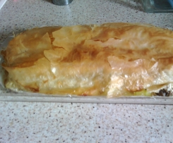 Croustillan poulet courgette