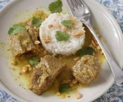 Curry de boeuf façon thai
