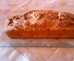 Cake aux noix et noisettes