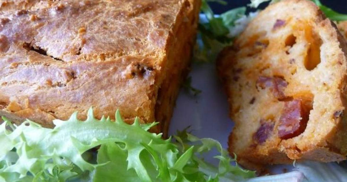 Recette Thermomix Cake Au Chorizo