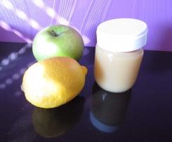 compote pomme/poire vanillée