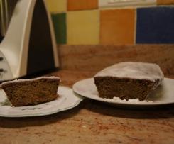 Cake moellleux à la courge  aux épices et son glaçage royal